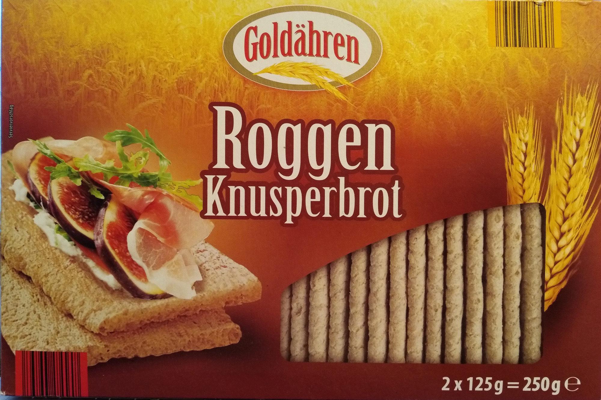 Roggen Knusperbrot - Produkt