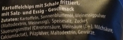 Chips im Kessel geröstet (Salt & Vinegar) - Ingredients - de