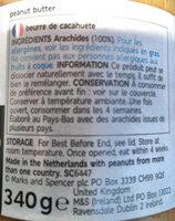 100% Pernaut butter crunchy - Ingredienti - fr