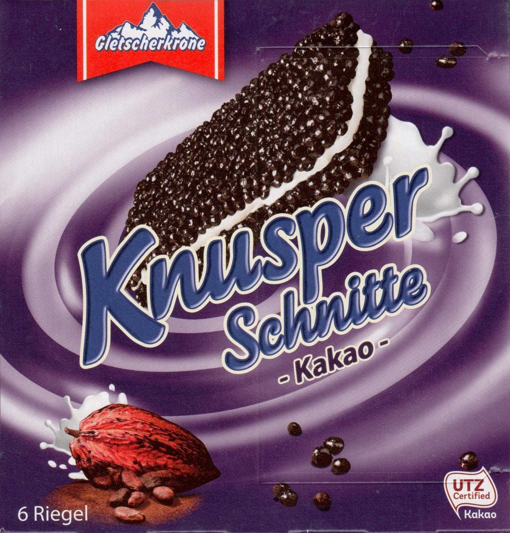 Knusper Schnitte Kakao - Product