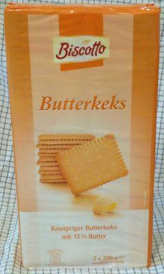 Butterkeks - Produkt