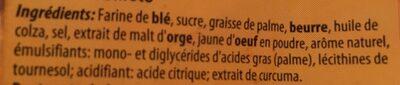 Mini palmier - Ingrediënten