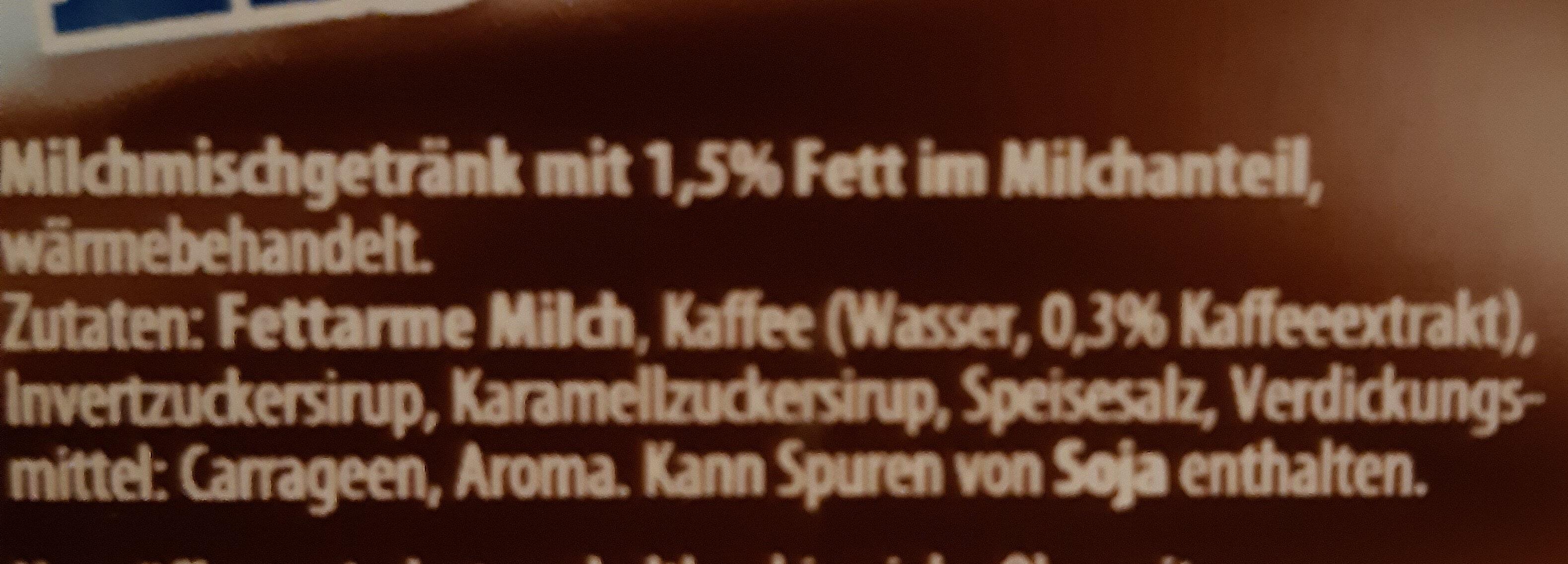 Eis-Kaffee - Inhaltsstoffe - de
