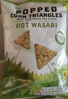 Soufflés à base de maïs et de petits pois - Product - de