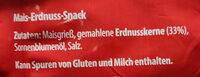 Erdnuss Flips - Ingredients - de