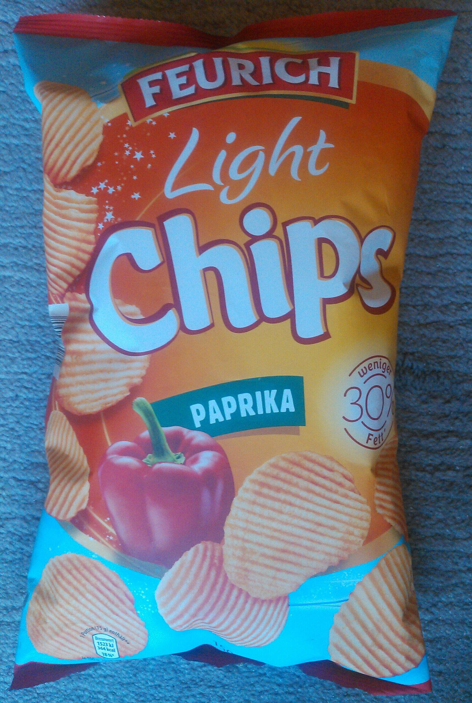 Light Chips Paprika - Produit - de