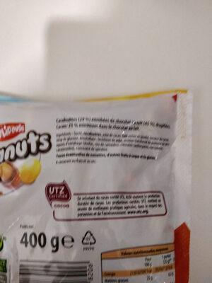 Peanuts - Ingrédients