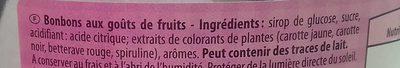 bonbonniere - Ingrédients