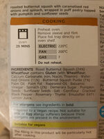 butternut and red onion en croutes - Inhaltsstoffe - en