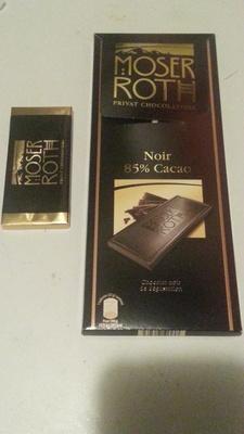 chocolat noir 85 % cacao - Product - fr