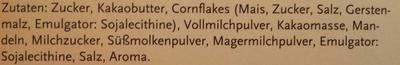 Knusper Schoklis - Ingrediënten - de