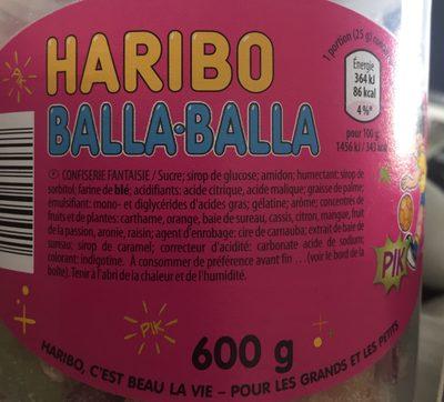 Haribo Frucht- Und Colaschnecken - Ingrediënten