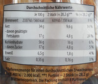 Blätterteig Herzen - Informations nutritionnelles