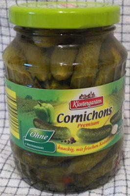 Cornichons Premium knackig, mit frischen Kräutern - Product