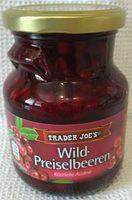 Wild-Preiselbeeren - Product