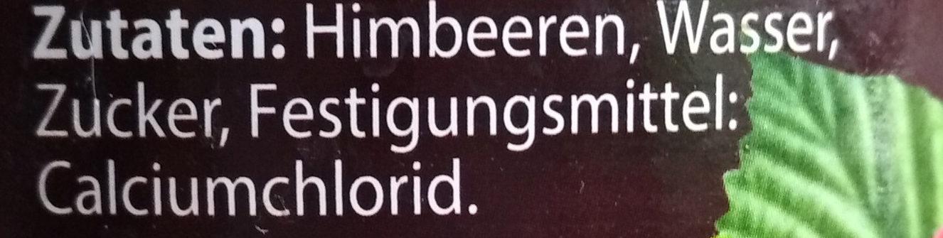 Himbeeren - Ingrediënten