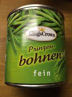 Prinzessbohnen - Product