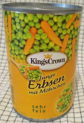 junge Erbsen mit Möhrchen - Produkt