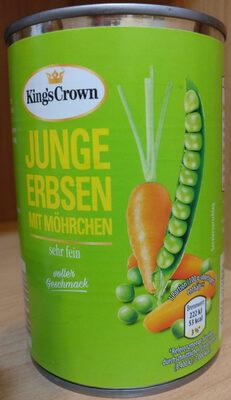 junge Erbsen mit Möhrchen - Produkt - de