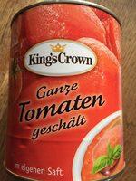 Tomaten geschält - Produit