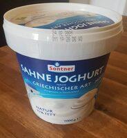 Sahnejoghurt nach griechischer Art - Produkt - de