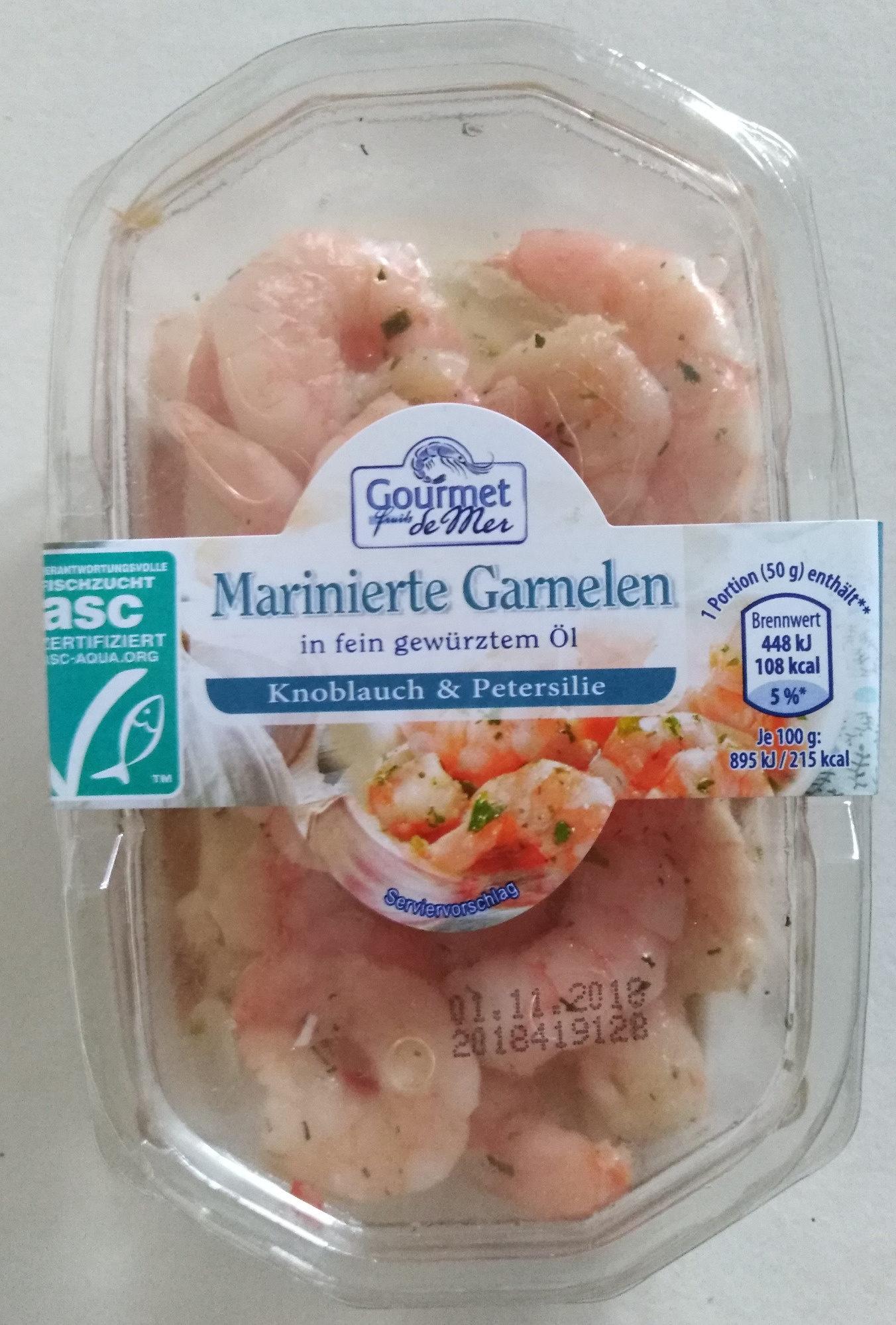 Marinierte Garnelen Knoblauch & Petersilie - Product
