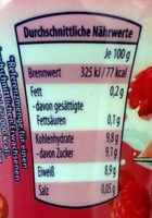 Skyr Himbeer-Cranberry - Informations nutritionnelles