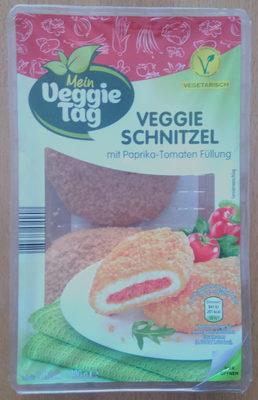Veggie Schnitzel mit Paprika-Tomaten Füllung - Product - de