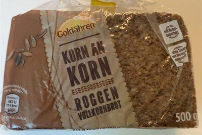 Roggen volkkornbrot - Produit - de