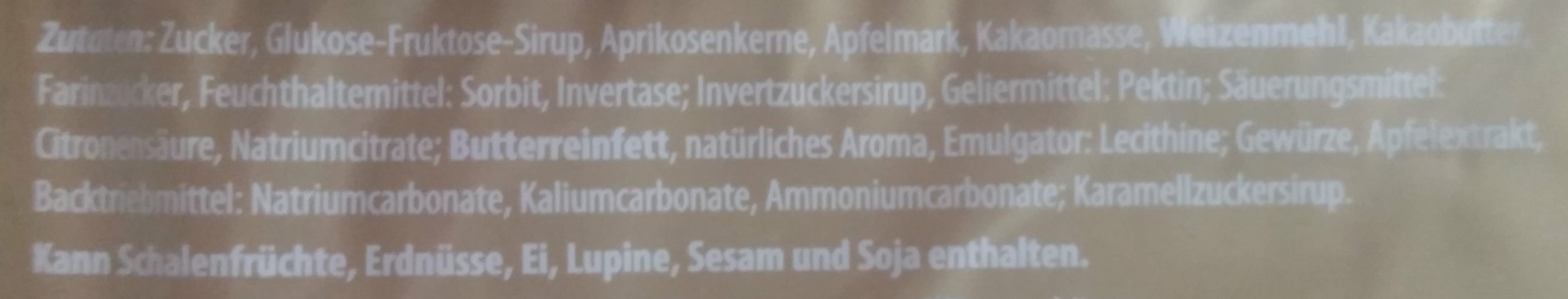 ReichsGraf pan de especias - Ingredients