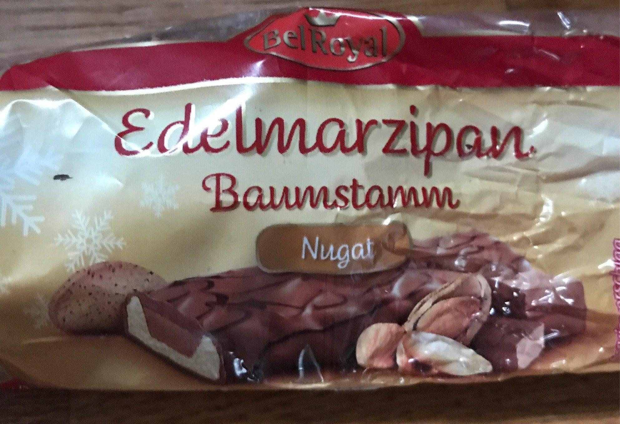 Baumstamm, Edelmarzipan Mit Nugat - Informations nutritionnelles