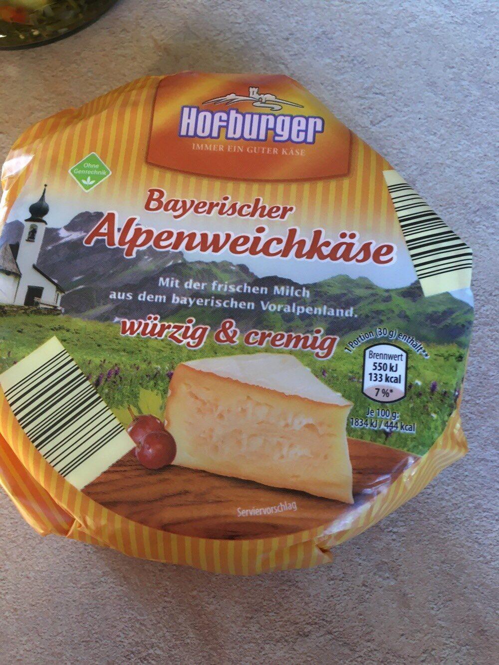 bayrischer alpenweichkäse - Product