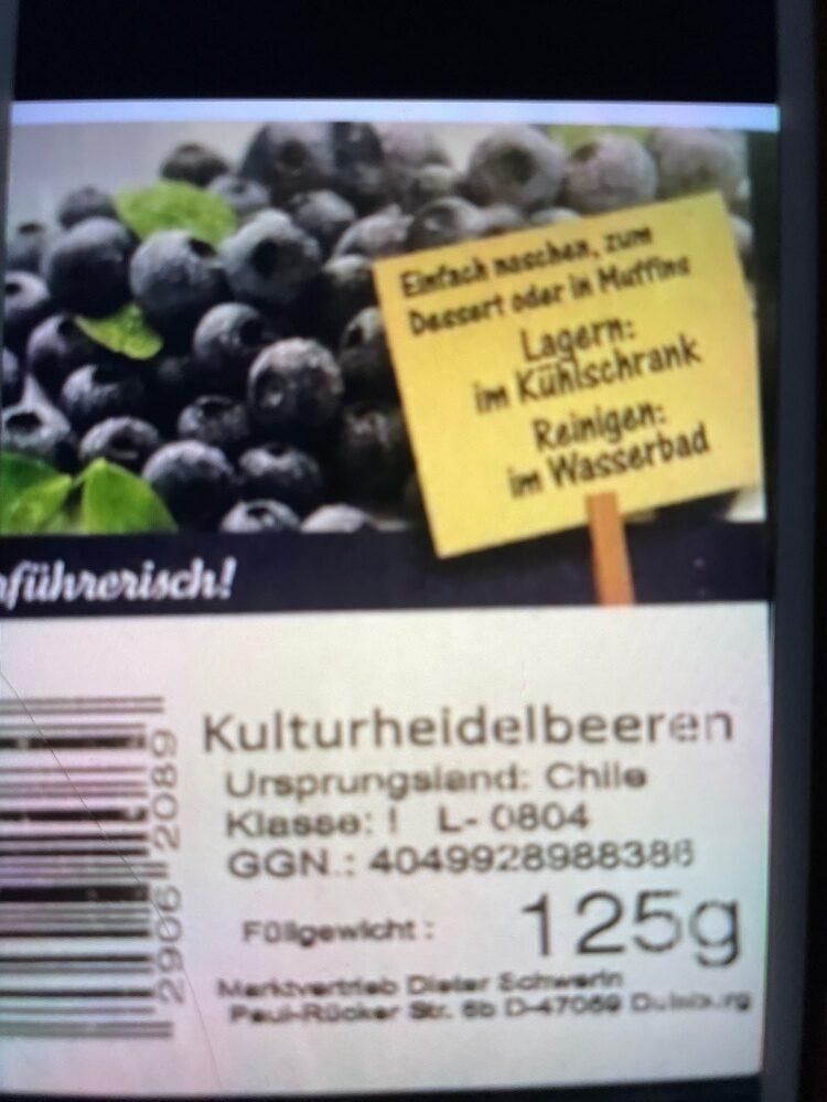 Heidelbeeren - Product - de