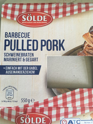 Barbacue Pulled Pork - Product