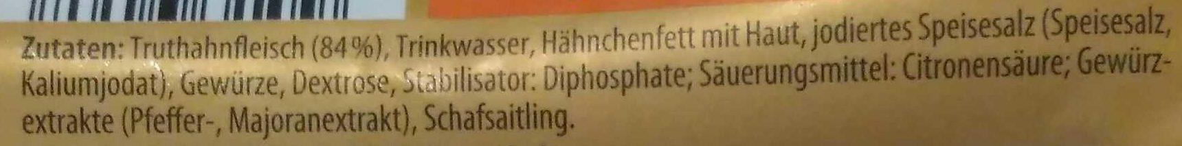 Bruzzl-Kracher - Ingredients