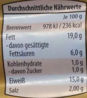 Bruzzl-Kracher - Nutrition facts