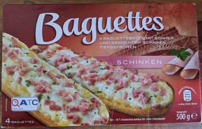 Baguettes Schinken - Product - de