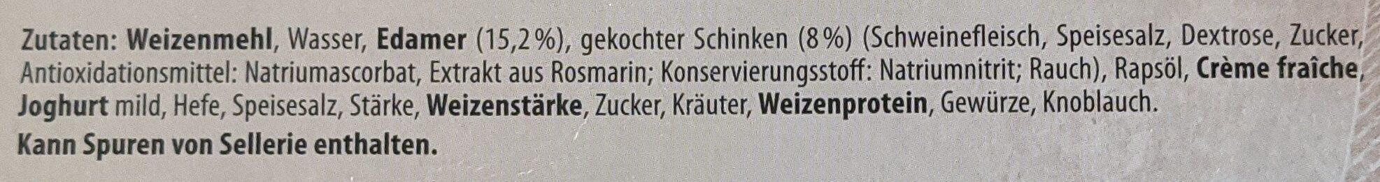 Baguettes Schinken - Ingrediënten - de
