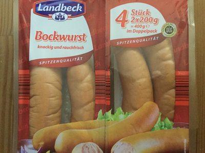 Bockwurst - Produit - de