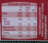 Queso cremoso ecológico ligeramente ahumado - Informations nutritionnelles