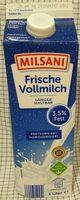 Frische Vollmilch 3,5% Fett - Prodotto - de