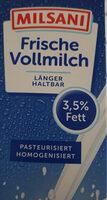 Frische Vollmilch 3,5% Fett - Ingredienti - de