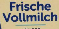 Frische Vollmilch 3,5% Fett - Ingrediënten - de