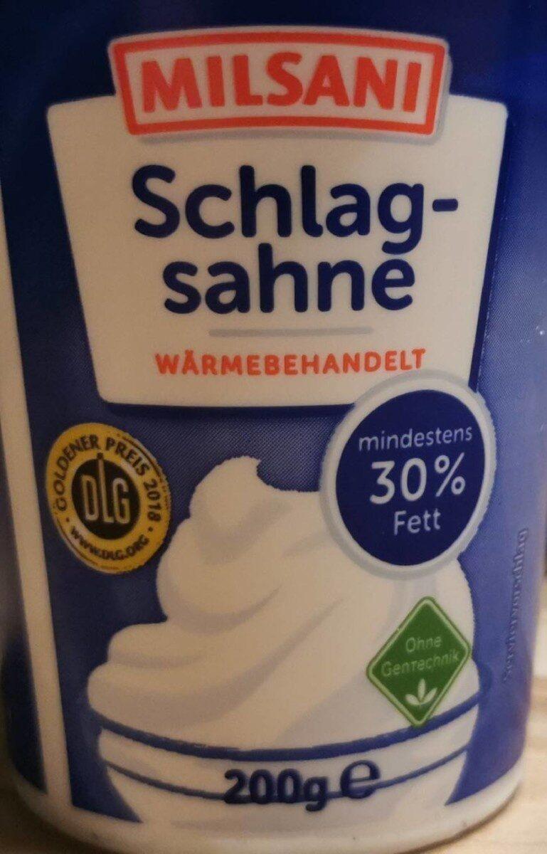 Schlagsahne - Produkt - de