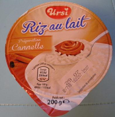 Riz au lait chocolat - Produit - fr