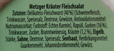 Ofterdinger Kräuter/Joghurt Fleischsalat - Ingredients
