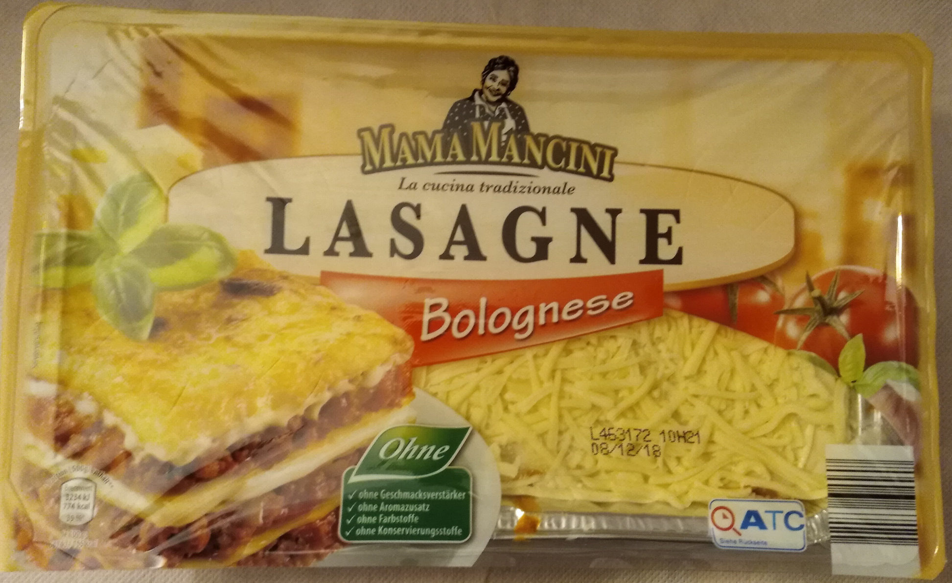Lasagne Bolognese - Product - de