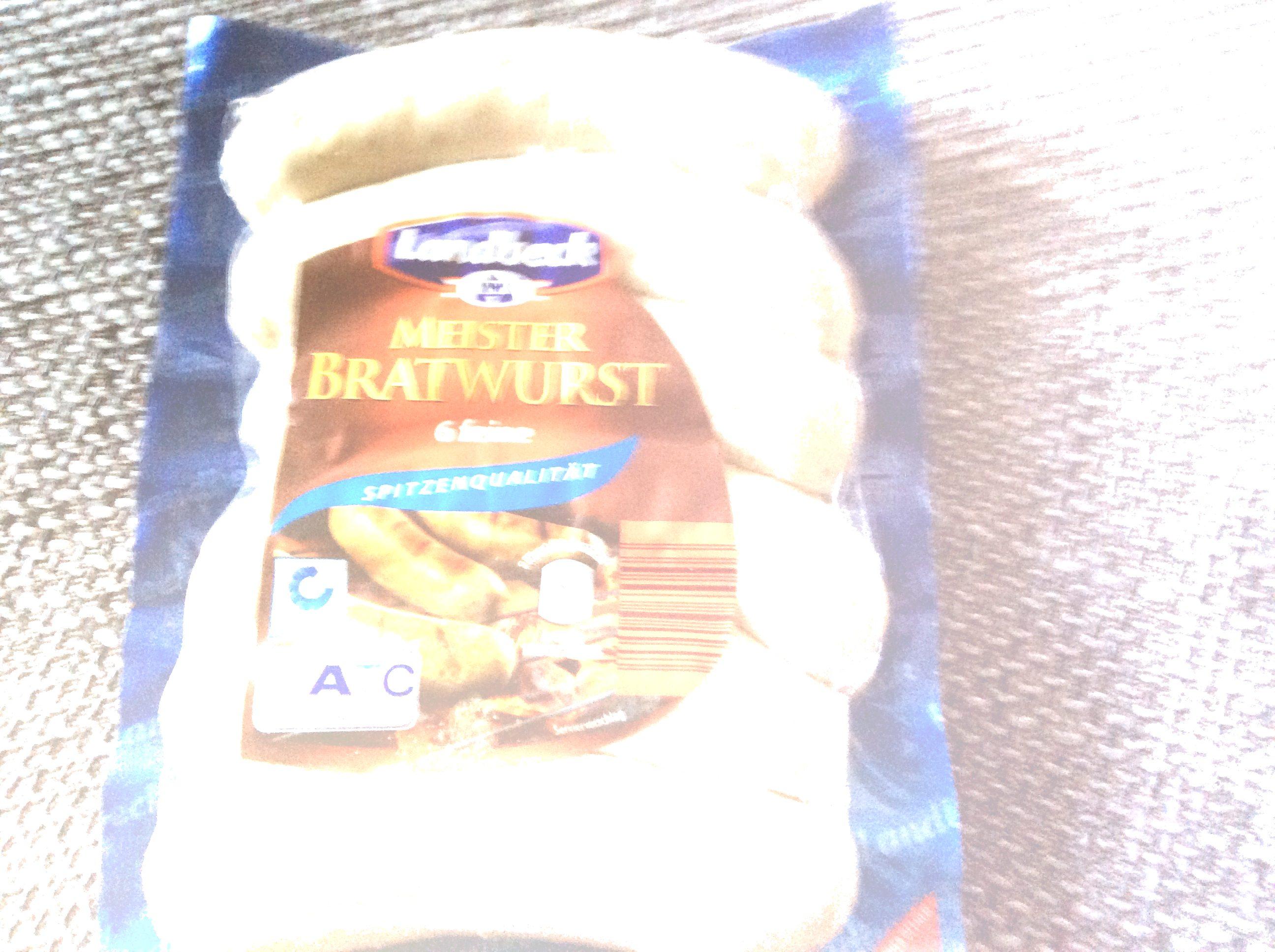 Meister Bratwurst - Product - de