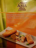 Gemüse Frühlingsrollen - Produit - fr