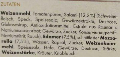 Salame - Ingredients - de